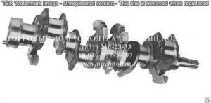 Вал коленчатый МТЗ под 2-шпонки,шлиц (7 отверстий) (MMЗ) 243-1005015