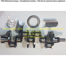 Вал коленчатый ГАЗ-3309,3308 САДКО,ПАЗ в сборе с вкладышами в упаковке ,ЕВРО-2,под 2 шпонки (7 отверстий) ММЗ 245.9-1005010