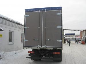 Ворота распашные для грузовых автомобилей