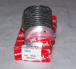 Вкладыши шатунные для погрузчика Toyota 5FD60, двигатель 14Z