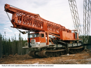 Снегоболотоход FOREMOST HUSKY-8(Canada)