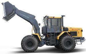 Трактор промышленный ПЕТРА-ЗСТ 375 (Погрузчик фронтальный ПК6) спецтехпортал.рф