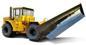 Трактор промышленный ПЕТРА-ЗСТ 375 ДМ-15 универсальное бульдозерное оборудование ДМ-15 спецтехпортал.рф