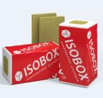 Теплоизоляция (минераловатная) PRORAB Утеплитель минераловатный ISOBOX 1200х600х50 Экстралайт компр.