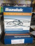D260 коробка на два п/к Кольца поршневые (110.0), два п/к в упаковке (Buzuluk) (Чехия)