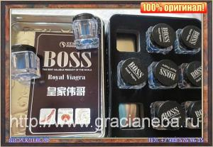 Boss Royal Viagra. Босс Роял Виагра.Упаковка 9 амфор- 27 таблеток для МУЖЧИН