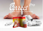 Correct Pro от выпирающих косточек на ногах