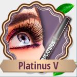 Раствор Platinus V для роста ресниц и бровей