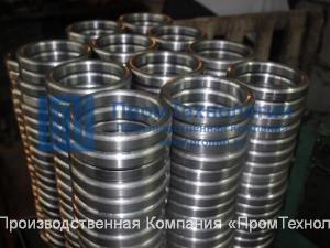Прокладки линзовые жесткие и компенсирующие ГОСТ 10493-81