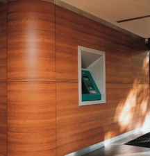 Панели пластиковые RESOPLAN. Пластик декоративный фасадный. Отделка панелями вентилируемых фасадов. Компакт-ламинат высокого давления. Панели HPL