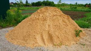 Песок 0-2 фракция с доставкой от 1 до 30 тонн. Без посредников