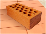 Кирпич керамический «Короед» пустотелый утолщенный марка — 150
