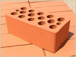 Кирпич керамический утолщенный пустотелый марка - 150