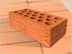 Кирпич керамический «Дюна» пустотелый одинарный Марка-150