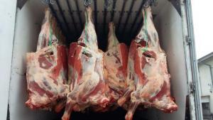 Говядина (корова) охлаждённая на кости