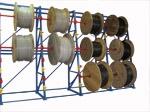 Стеллаж для хранения кабельных барабанов 2,8 м. Сборная конструкция! Любые варианты длины и высоты!