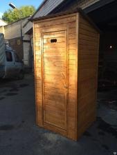 Туалет Дачный из евровагонки