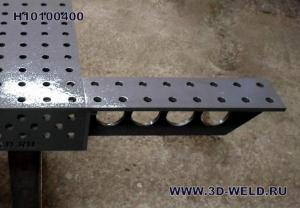 Плита добавочная к сварочному столу 3D-Weld Н10100400 400мм