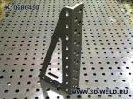Силовой угловой кронштейн для сварочного стола 3D-Weld К10200450