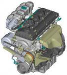 Двигатель ЗМЗ-409 Евро 3 для автомобиля УАЗ Хантер