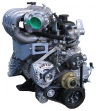 Двигатель УМЗ-4216 с поликлин. ремнем Евро 4 для автомобилей ГАЗ-3302