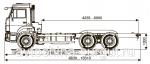 Грузовой автомобиль шасси Камаз 65115-3968-23(А4)