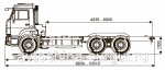 Грузовой автомобиль шасси Камаз 65115-3982-23(А4)
