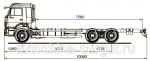 Грузовой автомобиль шасси Камаз 65117-773010-19(L4)