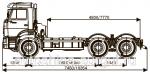 Грузовой автомобиль шасси Камаз 6520-3070-43