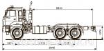 Грузовой автомобиль шасси Камаз 65224-3970-43