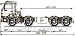 Грузовой автомобиль шасси Камаз 6540-3911-19(L4)