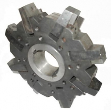 Фреза 3-сторонняя с механическим креплением ромбических (треугольных) пластин