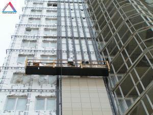 Межэтажная система устройства навесного вентилируемого фасада