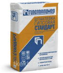 Шпаклевка гипсовая Стандарт 25 кг