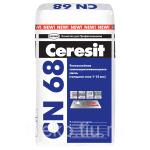 Смесь самовыравнивающаяся Церезит CN 68 ,от 1-15мм, 25 кг