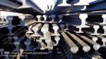 Рельсы Кр 70, б/у (износ до 1 мм). L = 9-11 м., торцованные, без отверстий. В наличии 42 тн.