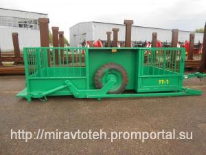 Трап тележка САТ ТТ-1С (перевоз скота, свиней)