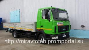 МАЗ 4371Р2 428 000 бортовой автомобиль 5 тонн г/п