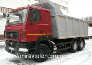 МАЗ 650129 8490 000 самосвал 20 кубов 20 тонн