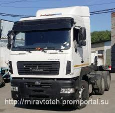 МАЗ 643029 1420 012 усиленная задняя подвеска 6х4 тягач