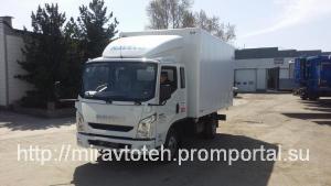 Naveco C300 промтоварный фургон категория В