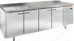 Стол охлаждаемый с полимерным покрытием (RAL 7004) HICOLD GN 1111/TN W