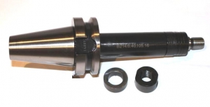 Оправки для дисковых фрез, хвостовик по ГОСТ 25827-93 исп.2 (DIN 69871/А), конус 40, вылет 75-120, диаметр 16-32