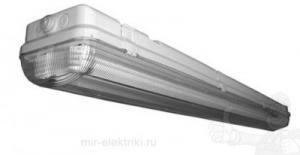 Светильник люминесцентный потолочный ЛСП 2х36 IP 65