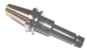 Патрон цанговый ER с хвостовиком по ГОСТ 25827-93 исп.1 (DIN 2080),конус 40-50, вылет 70-150, цанга 16-40