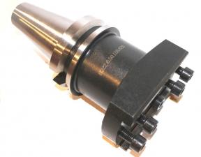 Оправка базовая с хвостовиком по MAS 403 BT, конус 50, вылет 128-258, (расточная система 200-620мм),