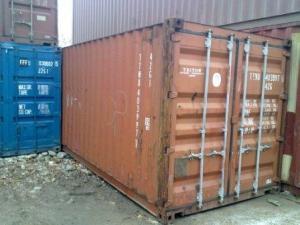 Техника хранение, контейнер б/у 20 футов не гнилой