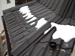Металлочерепица на крышу балкона.