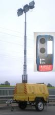 Электростанция передвижная прицепная c мачтой ЭППМ
