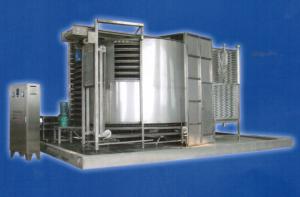Спиральный морозильный аппарат